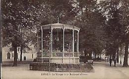 LIEGE : Le Kiosque Et Le Boulevard D'Avroy - Liege