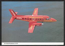Air Ecosse Bandeirante 110 P2 Royal Mail Livery - Unused Postcard - 1946-....: Ere Moderne