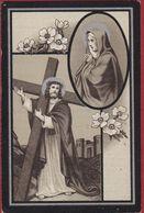 Regina Beuckelaers Emilius Baudry Hoboken Wilrijck Wilrijk 1907 Silverprint  Lithographie Doodsprentje Image Mortuaire - Images Religieuses