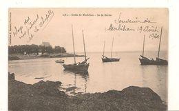 Larmor Baden - Ile De  Berder  - Golf Du Morbihan -  CPA° - France