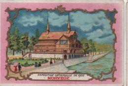 Chromo Enluminé/Exposition Universelle De 1900/ Bon Point /Norvége/ K & S Editeurs Paris/1900     IMA367 - Chromos