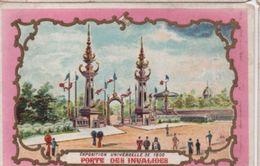 Chromo Enluminé/Exposition Universelle De 1900/ Bon Point /Porte Des Invalides/ K & S Editeurs Paris/1900     IMA368 - Chromos
