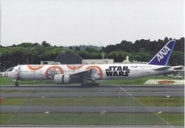 ANA Star Wars Japan All Nippon Airways B777 At Tokyo Narita - 1946-....: Ere Moderne