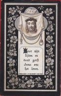 Josephus De Batist Beuckelaers Antwerpen 1890 Litho Lithografie Turgis Paris Silverprint Doodsprentje Image Mortuaire - Images Religieuses