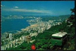 RB 1191 - Postcard - Hong Kong Peak Tram Serving Peak Residents & Tourists - China - China (Hong Kong)