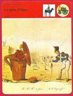 La Prise D'Alger 1830 Charles X Dey D'Alger France Algérie Blocus - Histoire