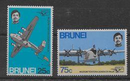 Serie De Brunei Nº Yvert 180/81 (**). - Brunei (1984-...)