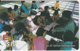 "BRUNEI - An Al""Quran Reciting Class, DST Recharge Card $10, Exp.date 31/08/07, Used - Brunei"