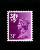 GREAT BRITAIN - 1984  SCOTLAND  31 P.  Type  II   PERF. 15 X 14  MINT NH - Regionali