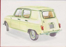 Chromo Chocolade Jacques Auto Voiture Car 1962 Nr. 16 Renault R3 - Jacques