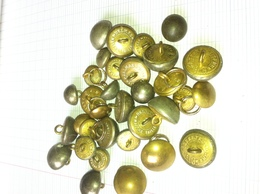 Lot Boutons Militaire - Other