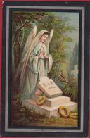 Joannes Selens Antwerpen 1890 Austruweel Coloured Litho Lithographie Angel Ange Engel Doodsprentje Image Mortuaire - Images Religieuses