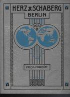 Preçario Do Catalogo Exportação HERZ & SCHABERG BERLIM. Pertenceu A Firma Em CABO VERDE Portugal 1909 - Libri, Riviste, Fumetti