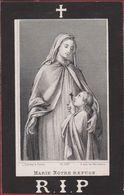 Aglae Baudry Constant Paulet Beauraing Anvers 1881 Dopter Paris  Doodsprentje Image Mortuaire - Images Religieuses