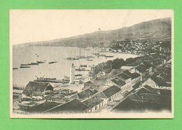 CPA FRANCE 972  ~  SAINT-PIERRE  ~   Rade De Saint-Pierre, Vue Prise Du Morne D'Orange  ( 1897 Dos Simple )  2 Scans - Martinique