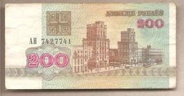 Bielorussia - Banconota Circolata Da 200 Rubli P-9 - 1992 - Bielorussia