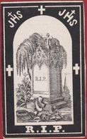 Petrus Beuckelaers Beekens Wilrijk 1879 RIP Zeer Oud Doodsprentje Image Mortuaire - Images Religieuses