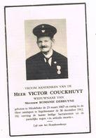 MEULEBEKE - INGELMUNSTER , Doodsprentje Van Victor COUCKHUYT  +  1962 - Images Religieuses