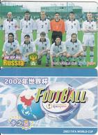 CHINA - 2002 FIFA World Cup Korea-Japan/Russia, Trading Card - Sport