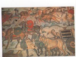 U2190 Cartolina Con Mosaici, Mosaique, Mosaic, Mosaik - PIAZZA ARMERINA (Palermo) Corridoio Della Grande Caccia (part.) - Malerei & Gemälde