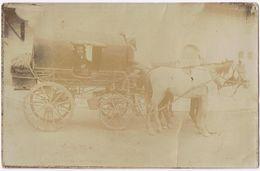 Cartolina Fotografica Probabilmente Turca. Destinatario Posta Austriaca Di Costantinopoli-Viaggiata 1911 - Turchia