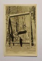 ST-FRANCOIS-SUR-BUGEON    CARTE PHOTO    TELE-SKI   1948 - Autres Communes
