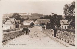 Ireland; Real Photo Postcard; Aughrim Village Co Wicklow - Wicklow