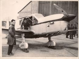 Aviation - Aviatrice Maryse Bastié Et Son Avion Simoun - 1936 - Aviation