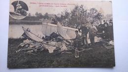 Carte Postale (z2) Ancienne De épinal , Chute Morelle D Caporal Aviateur D Autroche - Epinal