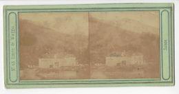 SUISSE WEGGIS WOEGGIS PHOTO STÉRÉO CIRCA 1855 /FREE SHIPPING REGISTERED - Photos Stéréoscopiques