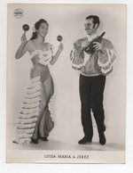 C1019/ Variete Luisa Maria & Jerez  Flamenco  Foto  Mahler, Hamburg Ca.1955 - Other