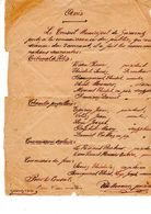 Suisse -Valais - Nominations Par Le Conseil Municipal De Grimenz Le 3 Février 1897 - Gesetze & Erlasse
