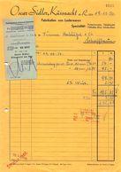 Oscar Sider Küssnacht, Fabrikation Von Lederwaren, Datiert 1950 - Suisse