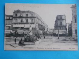 34 :MONTPELLIER : PERSPECTIVE De La RUE MAGUELONNE , C.P.A. ,carte En Très Bon état ,animée - Montpellier
