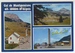 {77952} 05 Hautes Alpes Col De Montgenèvre , Multivues ; Divers Aspects - France