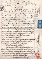 Acte De Vente Commune De Chalais - 1919 - Suisse - Valais - Un Grenier - Decrees & Laws
