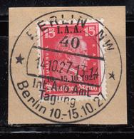 1927    MICHEL Nº 408 - Alemania