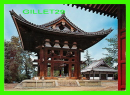 TOKYO, JAPON -  NATIONAL TREASURE, THE BELL TOWER TODAIJI TEMPLE - DIMENSION 12 X 17 Cm - - Tokyo