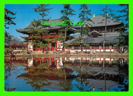 TOKYO, JAPON - THE KAGAMI POND & THE HALL FOR THE BUDDHA, TODAIJI TEMPLE - DIMENSION 12 X 17 Cm - - Tokyo