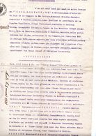 Enchère Publiques Commune De Chalais - 1919 - Suisse - Valais - Un Grenier - Décrets & Lois