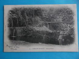 34 :LAMALOU Les BAINS : LE HAUT ; SOURCE MOISE , C.P.A. ,carte En Très Bon état , - Lamalou Les Bains