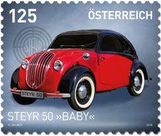 "Austria 2018 -  Steyr Typ 50 ""Baby"" - 1945-.... 2de Republiek"