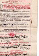 Location De Biens Commune De Chalais - 1918 - Suisse - Valais - St. Jean - Jean Clivaz - Decrees & Laws