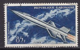 Gabon 1962 Mi. 178    85 Fr Entwicklung Der Luftfahrt Rakete - Gabun (1960-...)