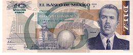 Mexico P.95 10 New Pesos 1992 Xf - Messico