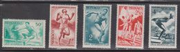 MONACO Scott # 204-8 MNH - Olympic Games 1948 - Monaco
