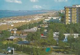 Postcard Rimini General View Of The Sea Shore PU 1969 My Ref B22301 - Rimini