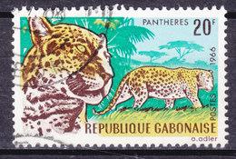 Gabon 1967 Mi. 265    20 Fr Leopard - Gabun (1960-...)