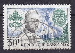 Gabon 1967 Mi. 278    30 Fr Pope Pabst Paul VI. - Gabun (1960-...)