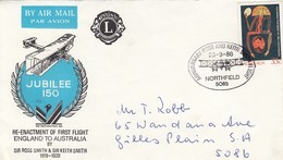 AUSTRALIA Cover 4 - First Flight Covers